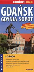 Picture of Gdańsk Gdynia Sopot plan miasta 1:26 000
