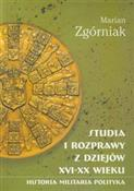 Studia i r... - Marian Zgórniak -  foreign books in polish