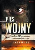 polish book : Pies wojny... - Simon Mann