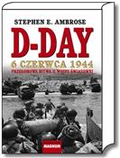 polish book : D-Day 6 cz... - Stephen E. Ambrose