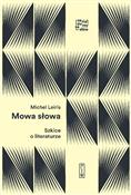 Mowa słowa... - Michel Leiris -  foreign books in polish