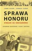 polish book : Sprawa hon... - Lynne Olson, Stanley Cloud