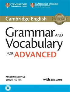 Picture of Grammar and Vocabulary for Advanced with answers