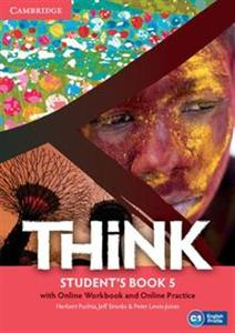 Picture of Think 5 Student's Book with Online Workbook and Online Practice