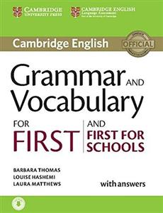 Picture of Grammar and Vocabulary for First and First for Schools with answers