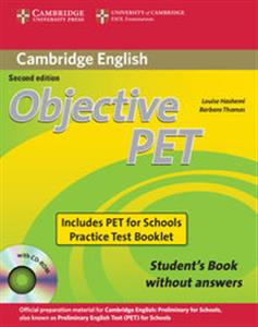 Picture of Objective PET Student's Book without answers + CD