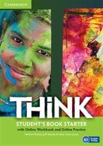 Picture of Think Starter Student's Book with Online Workbook and Online practice
