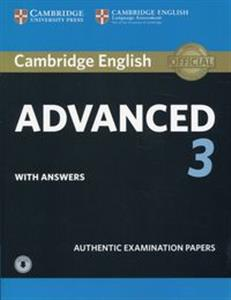 Obrazek Cambridge English Advanced 3 with answers with Audio