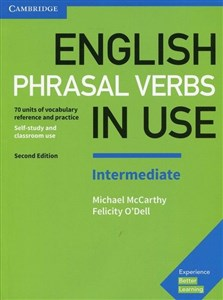 Picture of English Phrasal Verbs in Use Intermediate Self-stury and classroom use