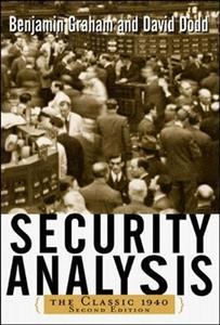 Obrazek SECURITY ANALYSIS CLASSIC 1940 EDITION