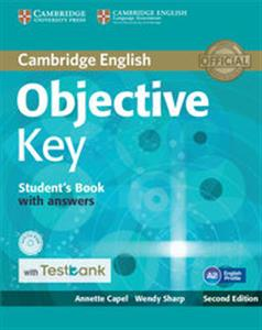 Picture of Objective Key Student's Book with Answers with CD-ROM with Testbank