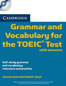 Picture of Cambridge Grammar and Vocabulary for the TOEIC with answers + CD