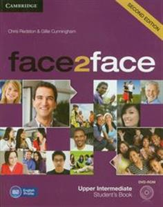 Obrazek face2face Upper-Intermediate Student's Book + DVD