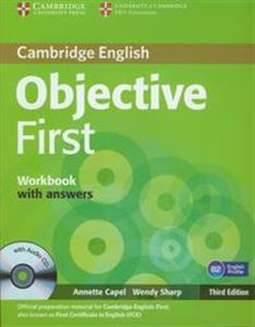 Picture of Objective First Workbook with answers