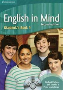 Picture of English in Mind 4 Student's Book + DVD