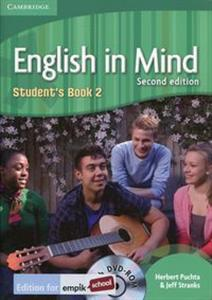 Picture of English in Mind 2 Student's Book + DVD-ROM Edition for empik school