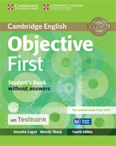 Picture of Objective First Student's Book without Answers with CD-ROM with Testbank
