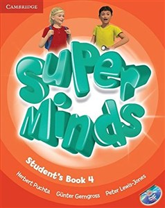 Picture of Super Minds 4 Student's Book + DVD
