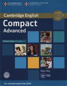 Picture of Compact Advanced Student's Book with Answers + CD