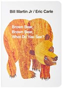 polish book : Brown Bear... - Eric Carle