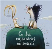 polish book : Co boli na... - Paco Livan, Roger Olmos