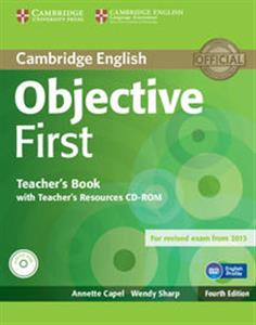 Picture of Objective First Teacher's Book with Teacher's Recouces CD-ROM
