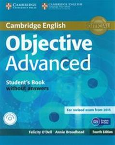 Obrazek Objective Advanced Student's Book without answers + CD