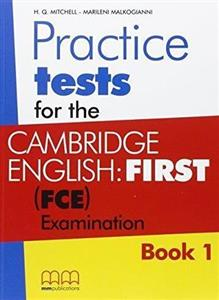 Obrazek Practice Tests for the C.E. (FCE) Book 1 SB