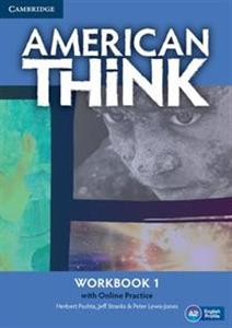 Picture of American Think 1 Workbook with Online Practice