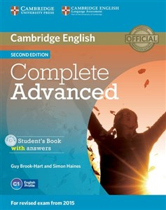 Obrazek Complete Advanced Student's Book with Answers + CD