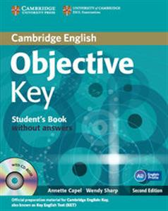 Picture of Objective Key Student's Book without answers + Practice tests booklet + CD